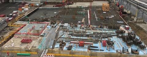 Kraftwerk Braunschweig: Sohle Rohbau