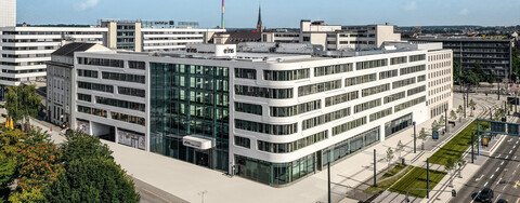 Die neue eins energie Unternehmenszentrale in Chemnitz