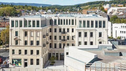 Palais am Kureck Wiesbaden revitalisiert