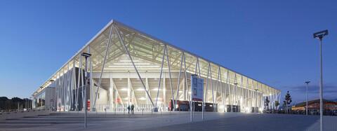 Europa-Park Stadion als neue Spielstätte der Bundesliga offiziell eingeweiht