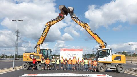 Zusammenarbeit Rewe Verkehrsanlagen