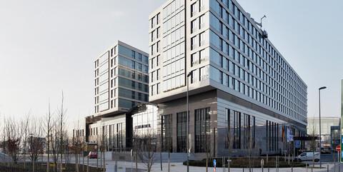 Hotelgebäude in Düsseldorf