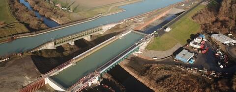 Umfahrungsstrecke Ems-Kanalbrücke