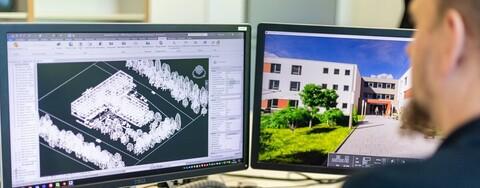 BIM bei Köster: Fortgeschrittene Planung im digitalen Gebäudemodell