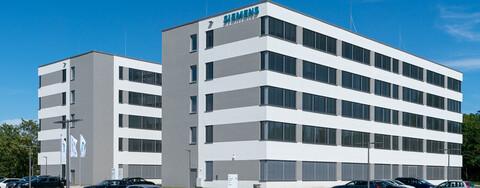 Siemens Neubau Bürogebäude Laatzen