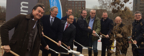 Erster Spatenstich für die neue Firmenzentrale der Creditreform e.V. (Bildquelle: Köster-Gruppe)