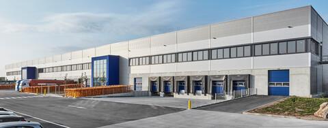 Logistikpark M-Port³ in Frankfurt