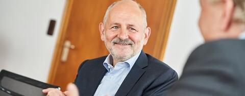 Wolfgang Richter, Geschäftsführer Hochbau Süd-West bei Köster