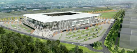 Köster baut für den SC Freiburg: So wird das neue Bundesliga-Stadion aussehen.