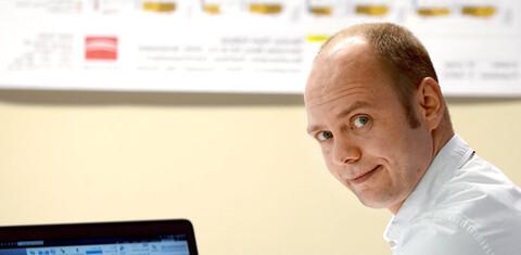 Sascha Gelhot, Projektleiter bei der Köster GmbH