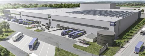 Köster realisiert Logistikzentrum für Union Investment