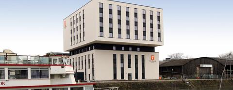 Schlüsselfertiger Neubau eines 7 Days Premium Hotel in Duisburg