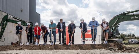 Baustart für die Erweiterung der Rubinmühle Vogtland bei Plauen
