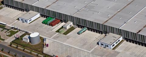 Logistikhalle überzeugt internationalen Handelskonzern