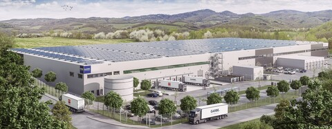 Logistikhalle für Garbe Industrial Real Estate in Burscheid