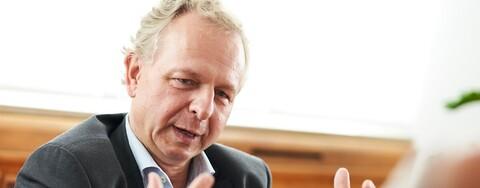 Marcus Hientzsch,  Geschäftsführer der MERKUR Development Holding, Rüsselsheim