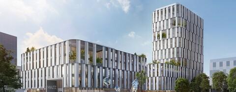 Auftrag für OPTINEO-Bürogebäude von WÖHR + BAUER in München