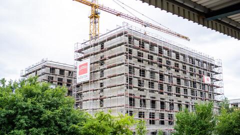 Rohbau Achat Hotel Berlin