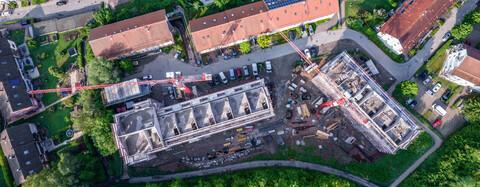 Manbachsiedlung Freudenstadt: Rohbau mängelfrei abgenommen