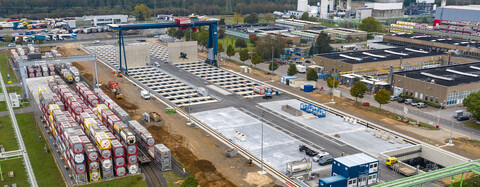 Containerterminal Dormagen II – in Sicherheit und Zukunft investiert