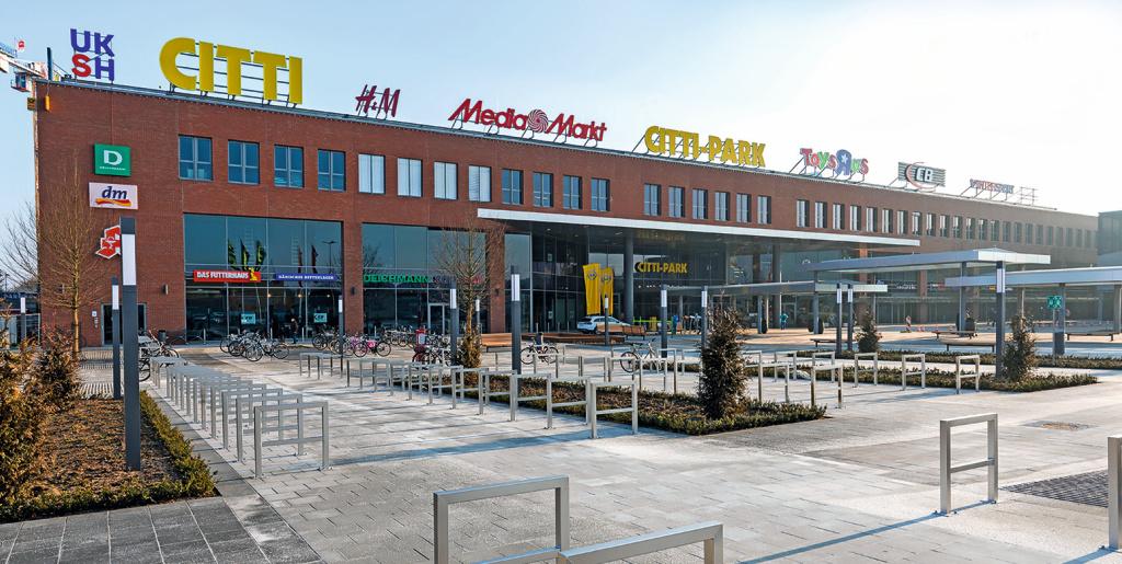 25.000 qm große Erweiterung für den CITTI PARK Lübeck