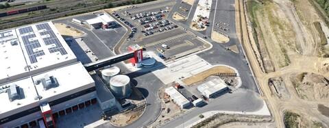 Logistik-Infrastrukturfläche für REWE Dortmund