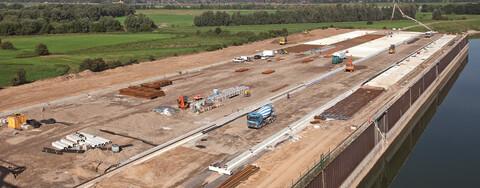 Vielseitige Infrastruktur für das neue Contargo-Terminal