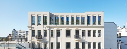 Historisches Palais am Kureck in Wiesbaden erfolgreich revitalisiert
