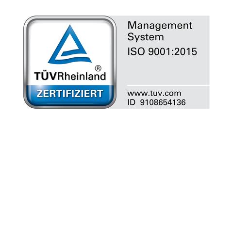 DIN EN ISO 9001 : 2015 für die Köster GmbH