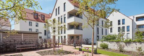 Service-Wohnen für Senioren in kleinteiliger Altstadtbebauung