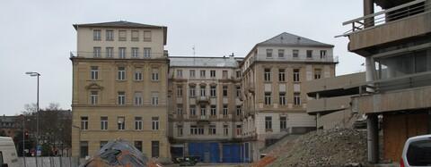 Das Wiesbadener Palais vor der Sanierung