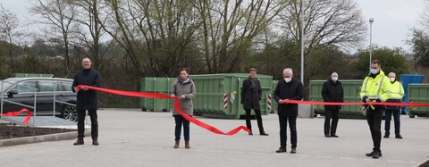 Eröffnung der neuen Abfallannahmestelle Ardestorf