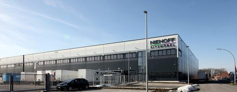 Logistikhalle der Niehoff Sitzmöbel GmbH in Freckenhorst