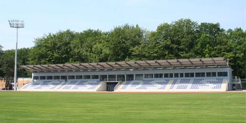 Hochmodernes Leichtathletikstadion der Deutschen Sporthochschule