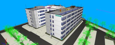 Siemens-Neubau in Laatzen profitiert von BIM