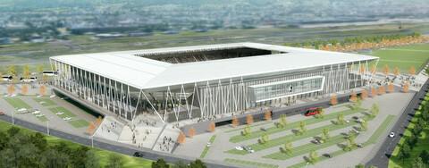 34.700 Plätze wird das neue Bundesliga-Stadion des SC Freiburg zukünftig bieten.