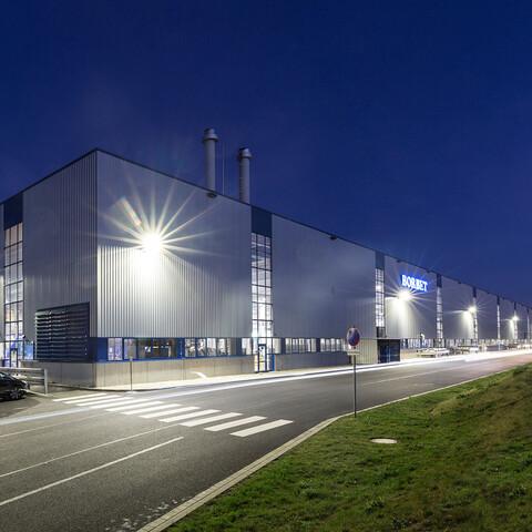 Borbet Industrie- und Produktionshalle in Kodersdorf