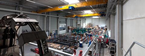 Produktionshalle in Reinsdorf