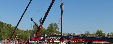 Flexible Logistikimmobilie M-Port3 nach Mieterausbau termintreu übergeben