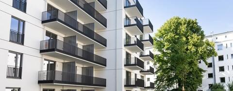 """""""Vogelweide"""" bietet attraktiven Wohnraum für unterschiedliche Zielgruppen: 46 hochwertige Eigentumswohnungen sowie 57 frei finanzierte und 44 geförderte Mietwohnungen, von denen 17 als barrierefreie Seniorenwohnungen errichtet wurden"""