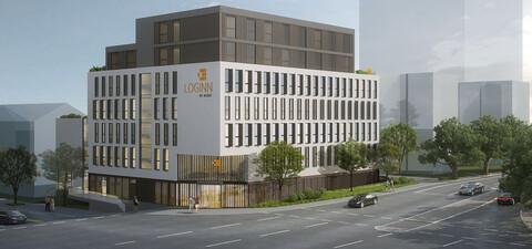 Planstand des neuen Hotels in Waiblingen