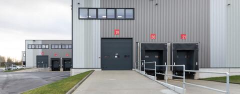 Von der BEOS AG beauftragte Logistikimmobilie in Norderstedt