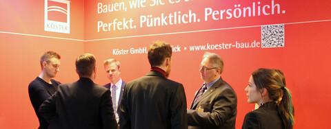 Das Kompetenz-Center Rohrleitungsbau der Köster GmbH stellte auf der IRO 2018 sein gesamtes Leistungsspektrum im Bereich Leitungs- und Anlagenbau vor.