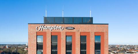 Optimierungsvorschlag verkürzt Bauzeit beim Hampton by Hilton in Kiel