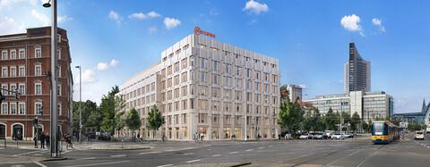 Köster setzt komplexes Sicherheitskonzept beim Neubau des Bürohauses NETZWERK in Leipzig um