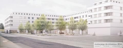 Panoramablick Weimar Architekturentwurf von motorplan Architekten BDA