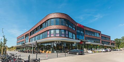 Büro- und Geschäftshaus Horn-Lehe: Geschäftshaus mit 11.500 qm Gewerbe- und Büroflächen