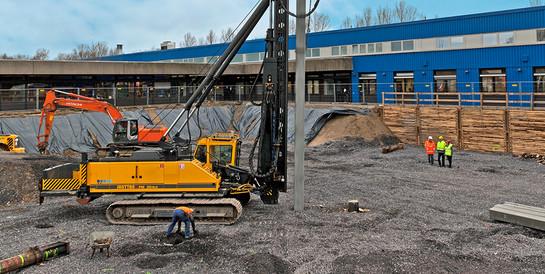 Spezialtiefbauarbeiten Konzernzentrale Krone Messtechnik, Duisburg: Komplexen Spezialtiefbauarbeiten für die neue Konzernzentrale