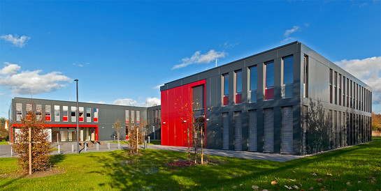 Hochschule Ostwestfalen-Lippe, Lemgo: Neubau eines kombinierten Büro- und Laborgebäudes.