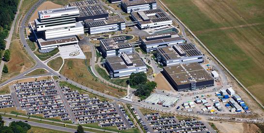 Bosch-Forschungscampus, Renningen: Infrastrukturarbeiten für das Bosch-Zentrum für Foschung und Vorausentwicklung
